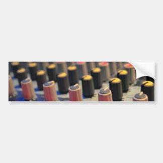 Botões de mistura do conselho adesivo para carro