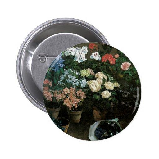 Botões florais das belas artes boton