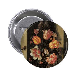 Botões florais das belas artes botons