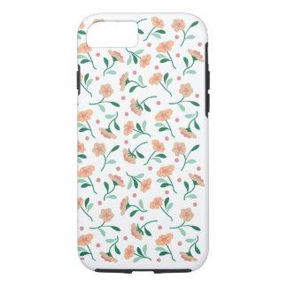 Botões na caixa resistente branca do iPhone 6/6S Capa iPhone 7