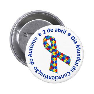 Bóton Conscientização do Autismo