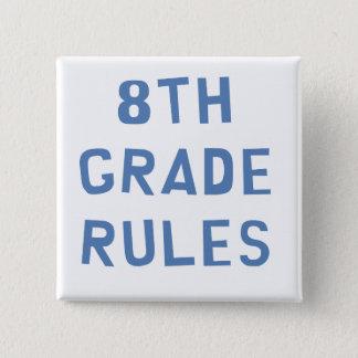 Bóton Quadrado 5.08cm 8o Regras da categoria