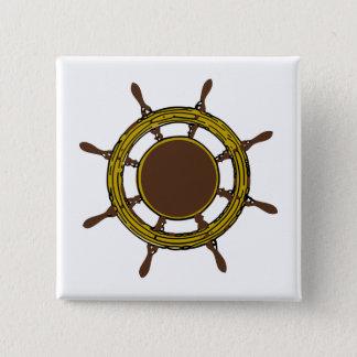 Bóton Quadrado 5.08cm A roda do navio