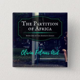 Bóton Quadrado 5.08cm A separação do botão de África