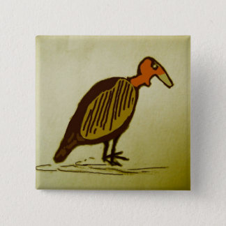 Bóton Quadrado 5.08cm abutre