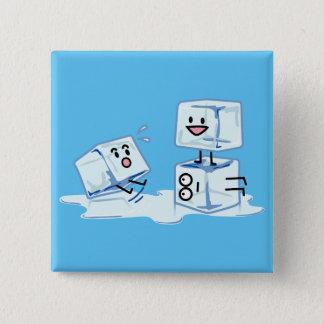 Bóton Quadrado 5.08cm água gelada do cubo dos cubos de gelo que desliza