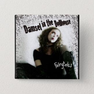 Bóton Quadrado 5.08cm Álbum dos contos de fadas botão do quadrado de 2