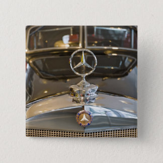 Bóton Quadrado 5.08cm Alemanha, Baden-Wurttemberg, Estugarda. Mercedes