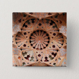 Bóton Quadrado 5.08cm Arte legal do teto do vintage em Irã [foto 174,4]