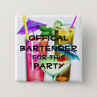Bóton Quadrado 5.08cm Barman oficial para este partido
