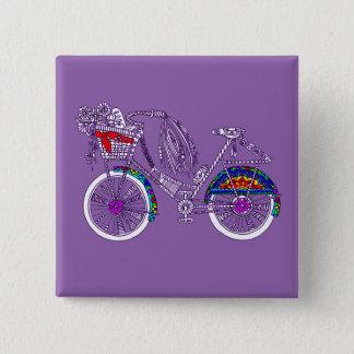 Bóton Quadrado 5.08cm Bicicleta