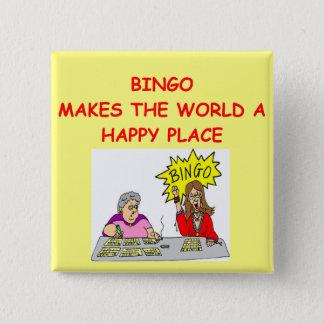 Bóton Quadrado 5.08cm bingo