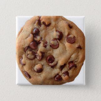 Bóton Quadrado 5.08cm Biscoito