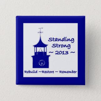Bóton Quadrado 5.08cm Botão comemorativo do Pin do fogo do SC de