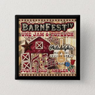 Bóton Quadrado 5.08cm Botão da lembrança de Barnfest IV