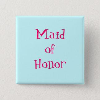 Bóton Quadrado 5.08cm Botão da madrinha de casamento