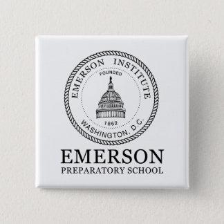 Bóton Quadrado 5.08cm Botão de Emerson