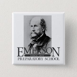 Bóton Quadrado 5.08cm Botão de Emerson (George)