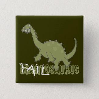 Bóton Quadrado 5.08cm Botão de Failosaurus