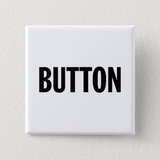 Bóton Quadrado 5.08cm Botão genérico