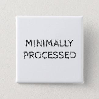 Bóton Quadrado 5.08cm Botão mìnima processado