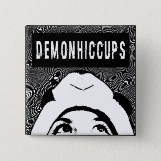 Bóton Quadrado 5.08cm Botão quadrado da panda de DemonHiccups