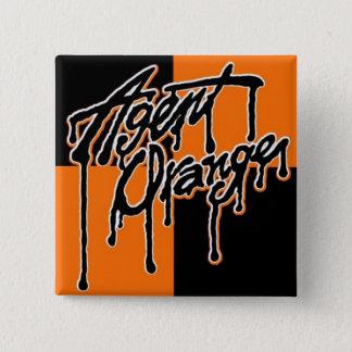 Bóton Quadrado 5.08cm Botão quadrado do punk do logotipo do