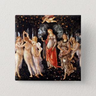 Bóton Quadrado 5.08cm BOTTICELLI - Primavera 1482