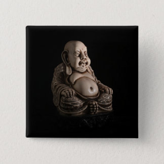 Bóton Quadrado 5.08cm Buddha