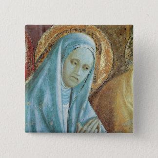 Bóton Quadrado 5.08cm Cabeça do santo Anne da apresentação de