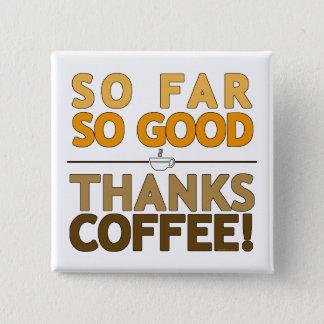 Bóton Quadrado 5.08cm Café dos obrigados