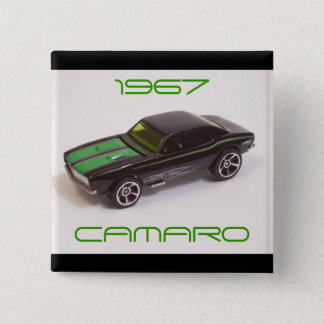 Bóton Quadrado 5.08cm Camaro 1967