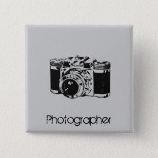 Bóton Quadrado 5.08cm Câmera
