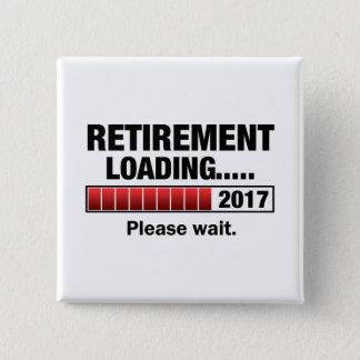 Bóton Quadrado 5.08cm Carga 2017 da aposentadoria