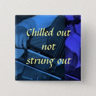 Bóton Quadrado 5.08cm cello1 azul, não estreptococo para fora