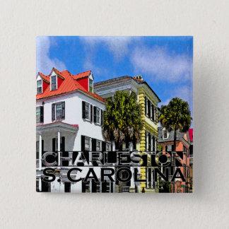 Bóton Quadrado 5.08cm Charleston