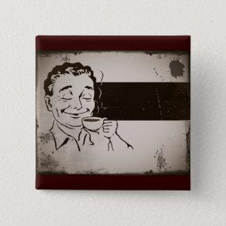 Bóton Quadrado 5.08cm Cheire o café