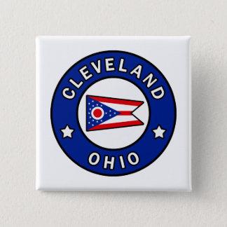 Bóton Quadrado 5.08cm Cleveland Ohio