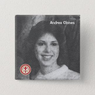 Bóton Quadrado 5.08cm Clone de Andrea