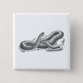 Bóton Quadrado 5.08cm Cobra