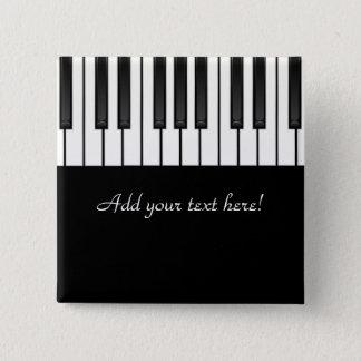 Bóton Quadrado 5.08cm Coleção da melodia