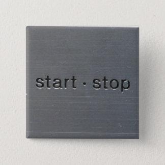 Bóton Quadrado 5.08cm começo das técnicas 1200