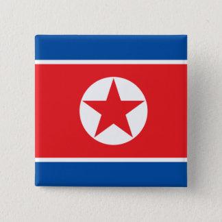 Bóton Quadrado 5.08cm Coreia norte