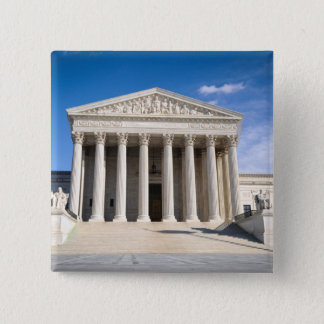 Bóton Quadrado 5.08cm Corte suprema dos Estados Unidos
