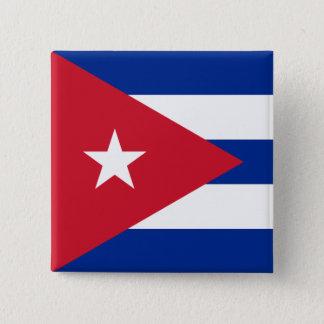 Bóton Quadrado 5.08cm Cuba