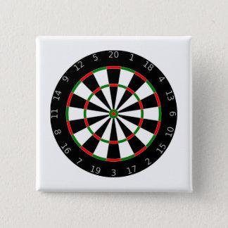 Bóton Quadrado 5.08cm Dartboard