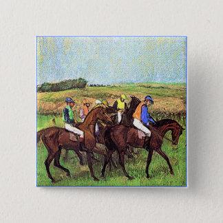 Bóton Quadrado 5.08cm Desgaseificaram cavalos
