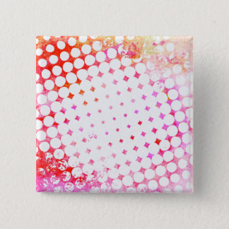 Bóton Quadrado 5.08cm Design de explosão cor-de-rosa da banda desenhada