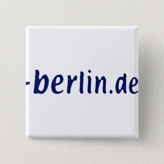 Bóton Quadrado 5.08cm Domínio de Berlim - berlin.de