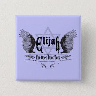 Bóton Quadrado 5.08cm Elijah a excursão do estar aberto